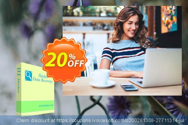 Hasleo Data Recovery Ultimate + Lifetime Free Upgrades discount 20% OFF, 2020 Back to School event offering sales