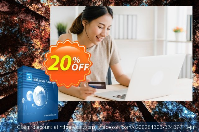 BitLocker Anywhere Professional For Mac + Lifetime Free Upgrades discount 20% OFF, 2021 Happy New Year offering sales