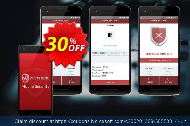 Watchdog Mobile Security discount 30% OFF, 2021 Resurrection Sunday offering discount