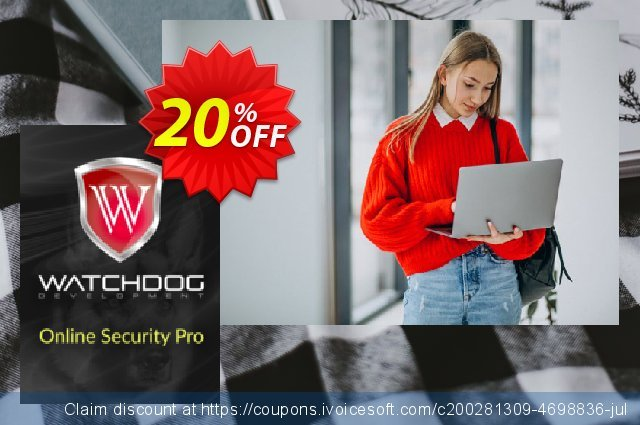 Watchdog Online Security Pro discount 20% OFF, 2020 Exclusive Student deals promo