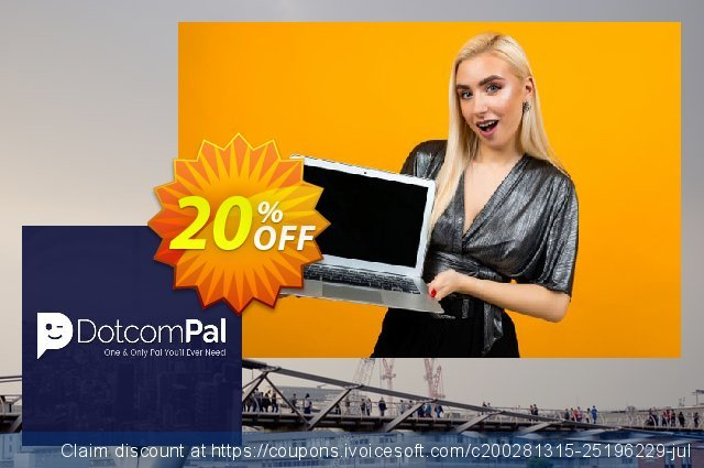 DotcomPal Sprout Bandwidth 500Gb/m Plan discount 20% OFF, 2020 Black Friday offer