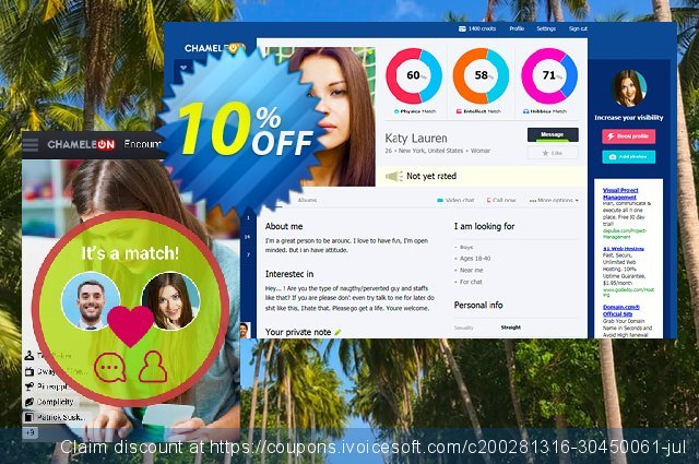 Chameleon modification services: 150 USD discount 10% OFF, 2020 Thanksgiving Day offering sales