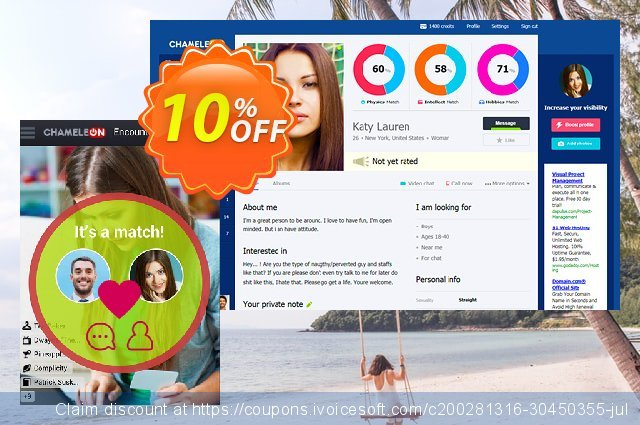 Chameleon modification services: 1650 USD discount 10% OFF, 2020 Thanksgiving Day promotions