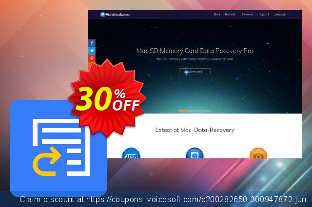 Mac Any Data Recovery Pro Giấy phép thương mại - VI discount 30% OFF, 2019 Back to School event promotions