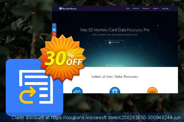 Mac Any Data Recovery Pro Commerciële licentie - NL Dutch korting discount 30% OFF, 2019 College Student deals offering sales