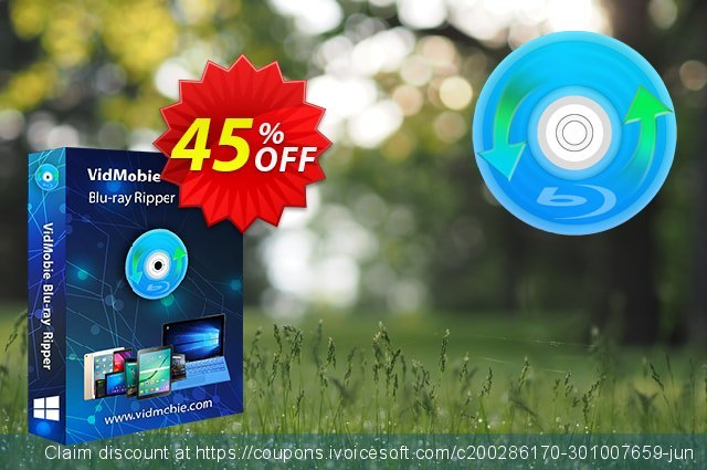 VidMobie Blu-ray Ripper (1 Year Subscription) discount 45% OFF, 2021 Italian Republic Day offering discount. Coupon code VidMobie Blu-ray Ripper (1 Year Subscription)