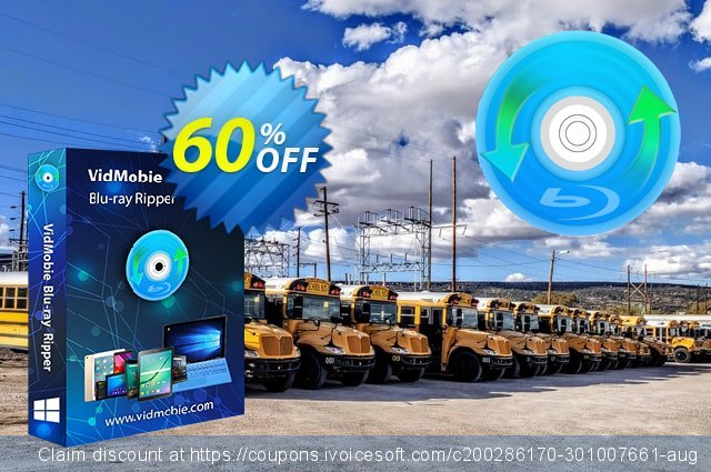 VidMobie Blu-ray Ripper (Lifetime License) discount 60% OFF, 2021 World Bicycle Day offering deals. Coupon code VidMobie Blu-ray Ripper (Lifetime License)