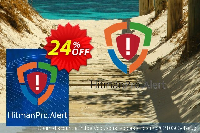 HitmanPro.Alert discount 24% OFF, 2021 Spring offering sales