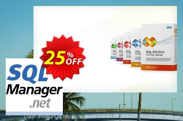EMS SQL Manager for PostgreSQL (Business) + 2 Year Maintenance discount 20% OFF, 2020 Back to School event discount