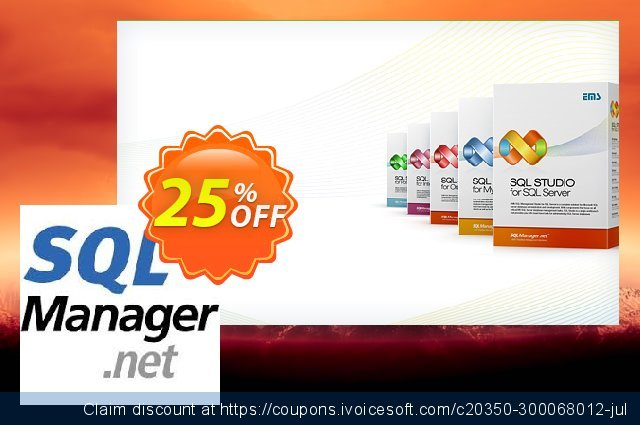 EMS SQL Query for SQL Server (Business) + 3 Year Maintenance discount 20% OFF, 2020 Halloween offering sales