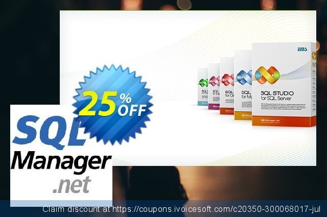 EMS SQL Manager for InterBase/Firebird (Business) + 2 Year Maintenance discount 20% OFF, 2020 Halloween discounts