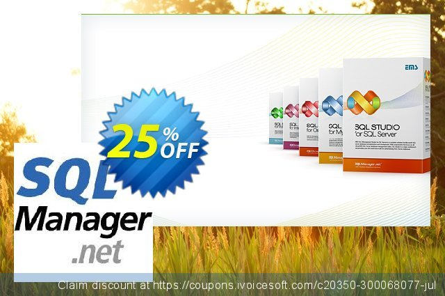EMS Data Import for DB2 (Business) + 2 Year Maintenance discount 20% OFF, 2020 Back to School event sales