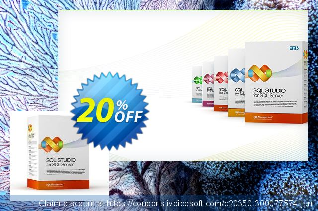 EMS SQL Management Studio for SQL Server (Business) + 1 Year Maintenance discount 20% OFF, 2020 Back to School offer offering sales