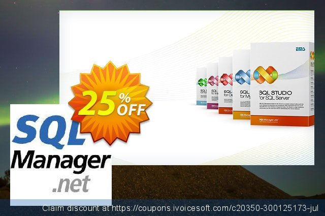 EMS SQL Manager for Oracle (Business) + 1 Year Maintenance discount 20% OFF, 2021 National Savings Day offer. Coupon code EMS SQL Manager for Oracle (Business) + 1 Year Maintenance