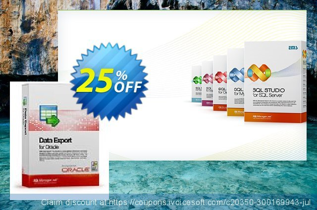 EMS Data Export for Oracle (Business) + 1 Year Maintenance discount 20% OFF, 2021 New Year's Day promotions