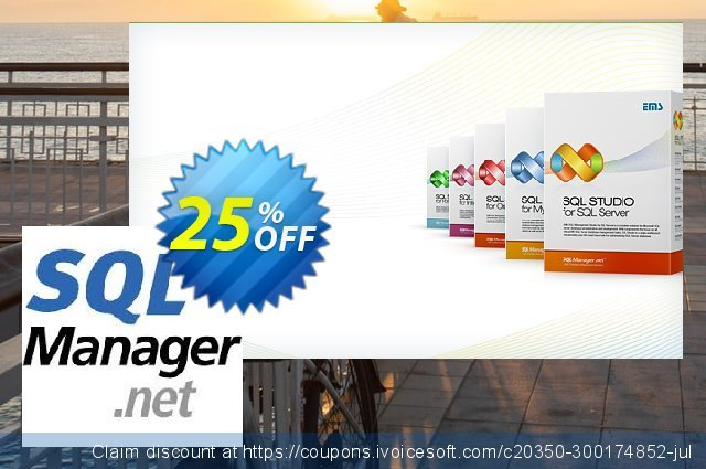 EMS SQL Manager for DB2 (Business) + 2 Year Maintenance discount 20% OFF, 2021 World Photo Day offering sales. Coupon code EMS SQL Manager for DB2 (Business) + 2 Year Maintenance