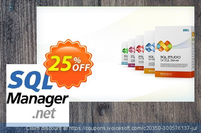 EMS SQL Administrator for SQL Server (Business) + 2 Year Maintenance discount 20% OFF, 2020 Halloween deals