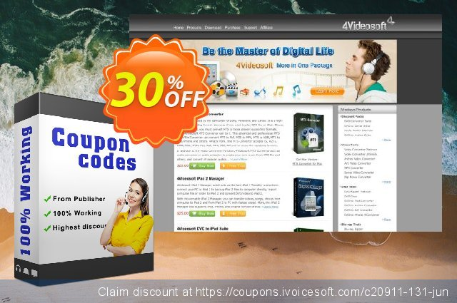 4Videosoft AVI Converter for Mac discount 30% OFF, 2020 Exclusive Student discount discount