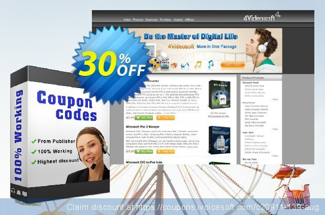 4Videosoft AVC Converter for Mac discount 30% OFF, 2021 January offering discount