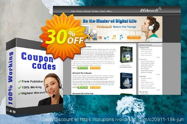 4Videosoft DVD Copy for Mac discount 30% OFF, 2021 Spring offering sales