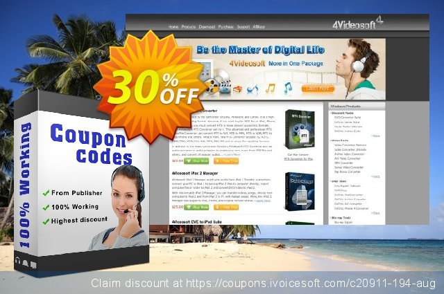 4Videosoft Blu-ray Converter discount 30% OFF, 2020 Exclusive Teacher discount offering sales