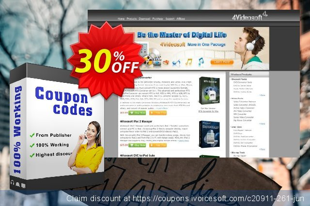 4Videosoft TRP Video Converter discount 30% OFF, 2020 Black Friday discount