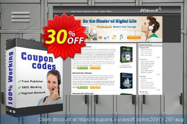 4Videosoft Blu-ray to iPad Ripper for Mac discount 30% OFF, 2021 Happy New Year sales