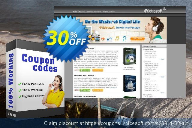 4Videosoft MKV Video Converter discount 30% OFF, 2020 New Year's Day offer