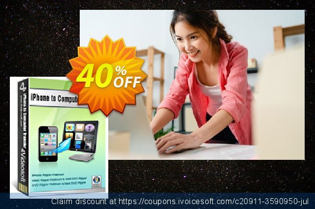 4Videosoft iPhone to Computer Transfer discount 40% OFF, 2021 Happy New Year sales