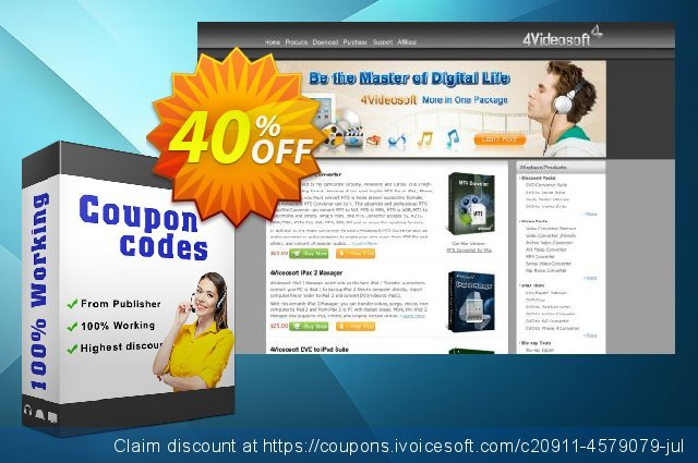 4Videosoft PDF Office Solution discount 40% OFF, 2020 Thanksgiving Day offering deals