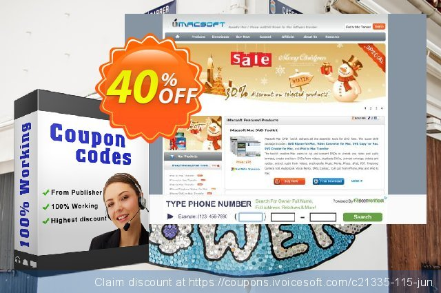 iMacsoft PDF to Image Converter for Mac discount 40% OFF, 2020 January offering sales