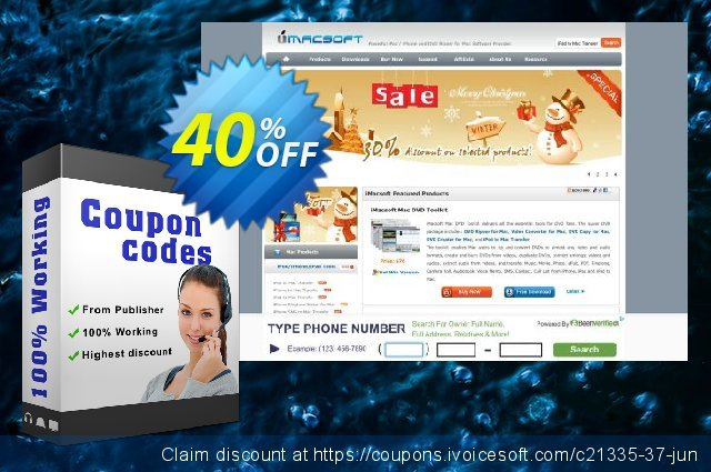 iMacsoft DVD Copy for Mac discount 40% OFF, 2020 Exclusive Student deals offering sales