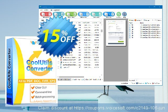 All-in-one Coolutils Converter discount 15% OFF, 2020 Halloween offering sales
