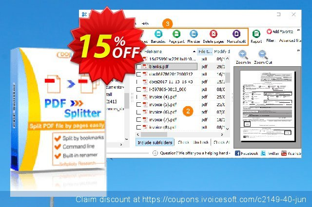 PDFSplitter discount 30% OFF, 2019 Thanksgiving offer