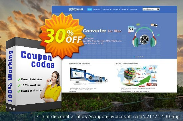 Bigasoft VOB to iPhone Converter discount 30% OFF, 2020 American Independence Day deals