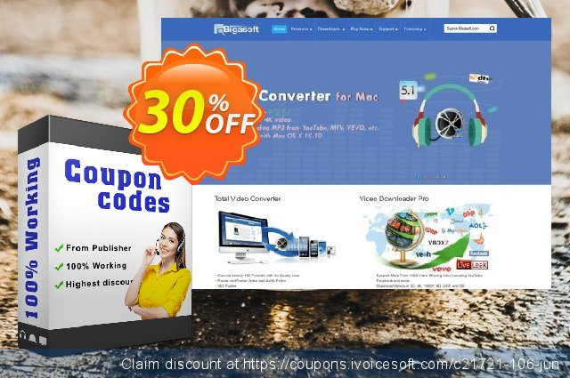 Bigasoft ProRes Converter discount 30% OFF, 2020 Fourth of July promo sales