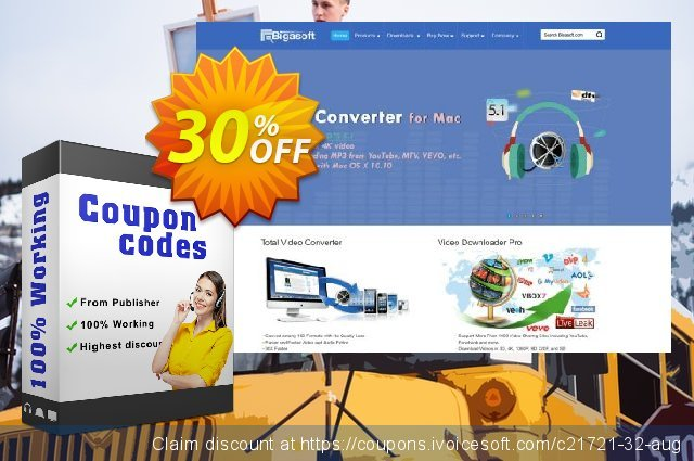 Bigasoft BlackBerry Software Pack discount 30% OFF, 2020 Halloween discount