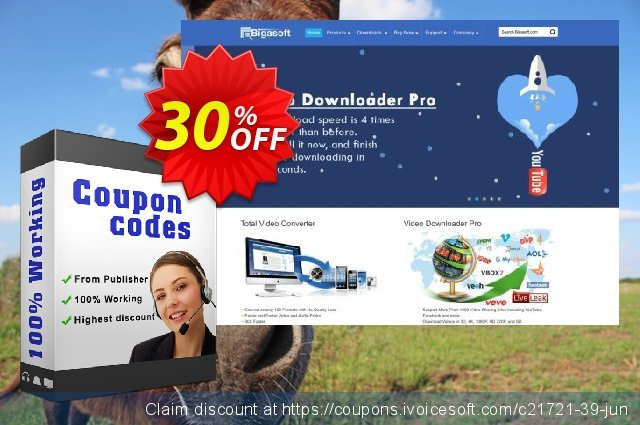 Bigasoft 3GP Converter for Mac discount 30% OFF, 2019 Black Friday offering sales