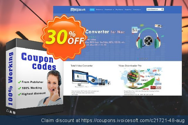 Bigasoft iPod Transfer for Mac discount 30% OFF, 2019 Black Friday deals