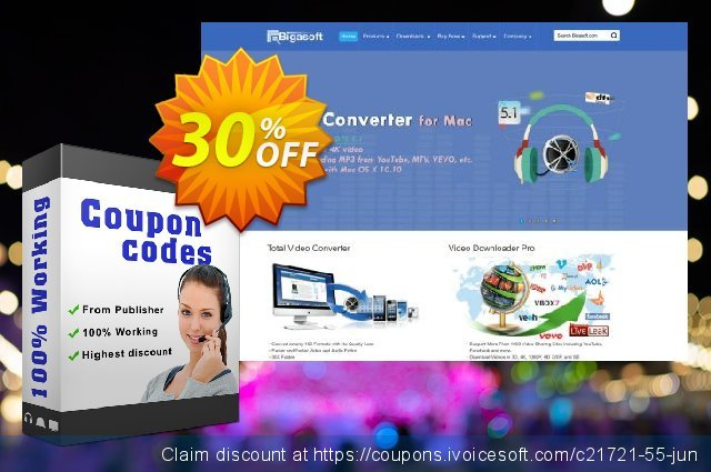 Bigasoft WebM Converter for Mac discount 30% OFF, 2020 American Independence Day offering discount