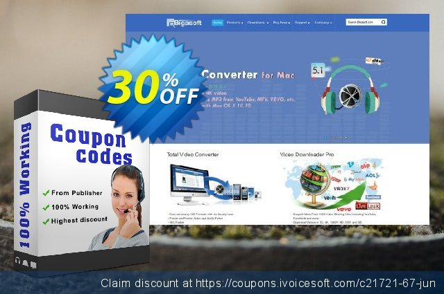 Bigasoft MP3 Converter for Mac discount 30% OFF, 2019 Thanksgiving deals