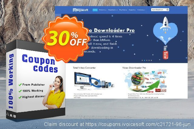Bigasoft VOB to WebM Converter for Mac discount 30% OFF, 2020 Fourth of July promo sales