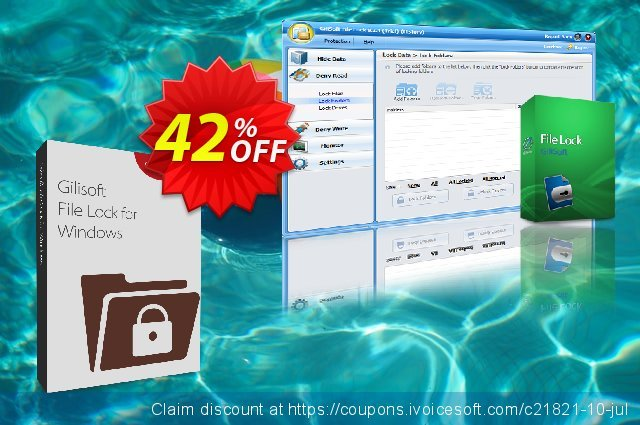 GiliSoft File Lock (Academic / Personal License) discount 30% OFF, 2020 American Independence Day discount