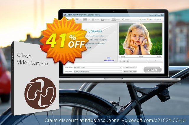 GiliSoft Video Converter Lifetime discount 30% OFF, 2020 New Year's Day deals