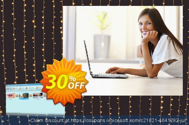 GiliSoft Slideshow Movie Creator 3PC/Lifetime discount 30% OFF, 2020 Thanksgiving offering sales
