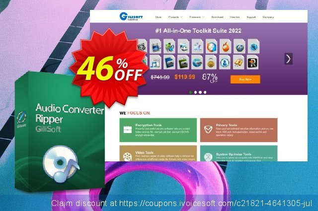 Audio Converter Ripper Lifetime discount 46% OFF, 2020 College Student deals offering sales