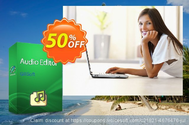 GiliSoft Audio Editor discount 50% OFF, 2019 Thanksgiving Day discounts