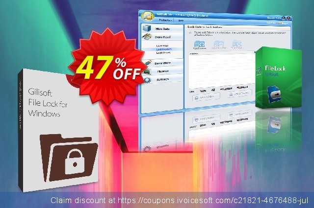 GiliSoft File Lock discount 30% OFF, 2019 Thanksgiving Day offering sales