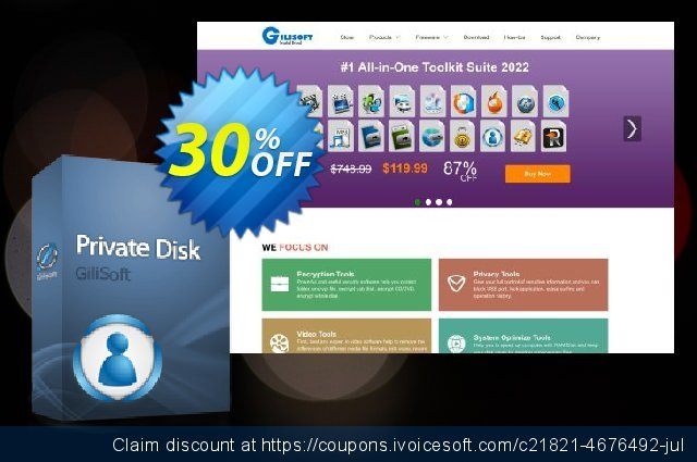 Gilisoft Private discount 30% OFF, 2020 Exclusive Student deals offering sales