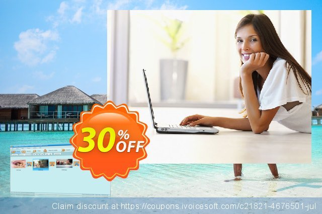 GiliSoft Slideshow Movie Creator discount 30% OFF, 2021 National Women month offering sales